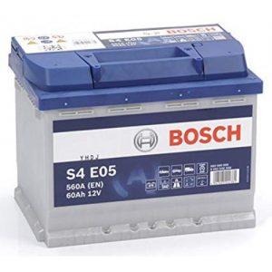 Μπαταρία αυτοκινήτου bosch 60ah με 560 αμπέρ εκκίνησης s4e05