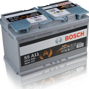 Μπαταρία αυτοκινήτου bosch 80ah με 800 αμπέρ εκκίνησης s5a11