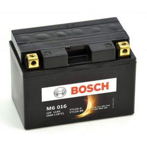 Μπαταρία μοτοσυκλέτας bosch yt12a-bs M6016 με 160 αμπέρ εκκίνησης