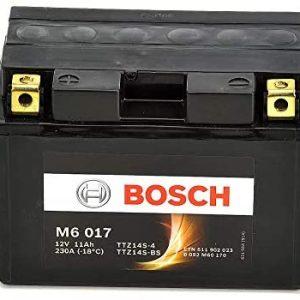 Μπαταρία μοτοσυκλέτας bosch ttz14s-bs M6017 με 230 αμπέρ εκκίνησης