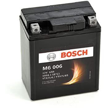 Μπαταρία μοτοσυκλέτας bosch ytx7l-bs M6006 με 100 αμπέρ εκκίνησης
