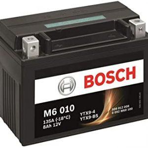 Μπαταρία μοτοσυκλέτας bosch ytx9-bs M6010 με 135 αμπέρ εκκίνησης