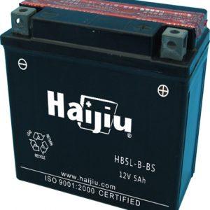 Μπαταρία μοτοσυκλέτας haijiu yb5l-b-bs με 55 αμπέρ εκκίνησης