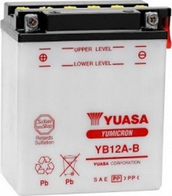 Μπαταρία μοτοσυκλέτας yuasa yb12a-b με 150 αμπέρ εκκίνησης