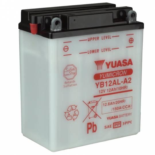 Μπαταρία μοτοσυκλέτας yuasa yb12al-a2 με 150 αμπέρ εκκίνησης