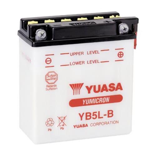 Μπαταρία μοτοσυκλέτας yuasa yb5l-b με 60 αμπέρ εκκίνησης
