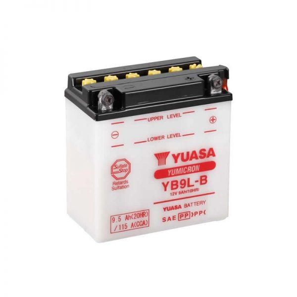 Μπαταρία μοτοσυκλέτας yuasa yb9l-b με 115 αμπέρ εκκίνησης