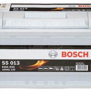 Μπαταρία αυτοκινήτου bosch 100ah με 830 αμπέρ εκκίνησης s5013