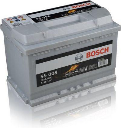 Μπαταρία αυτοκινήτου bosch 77ah με 780 αμπέρ εκκίνησης s5008